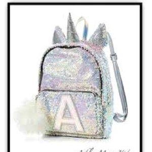 Justice Unicorn Sequin Mini Backpack